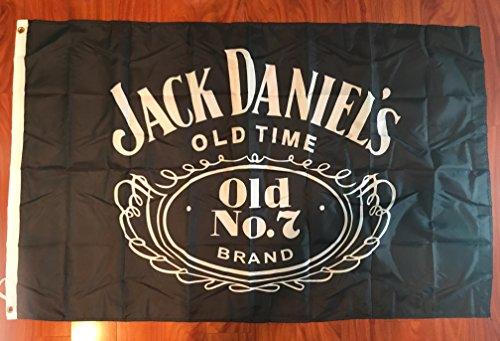 Jack Daniels Whiskey bar flag banner decoration Decor 3x5 Fe