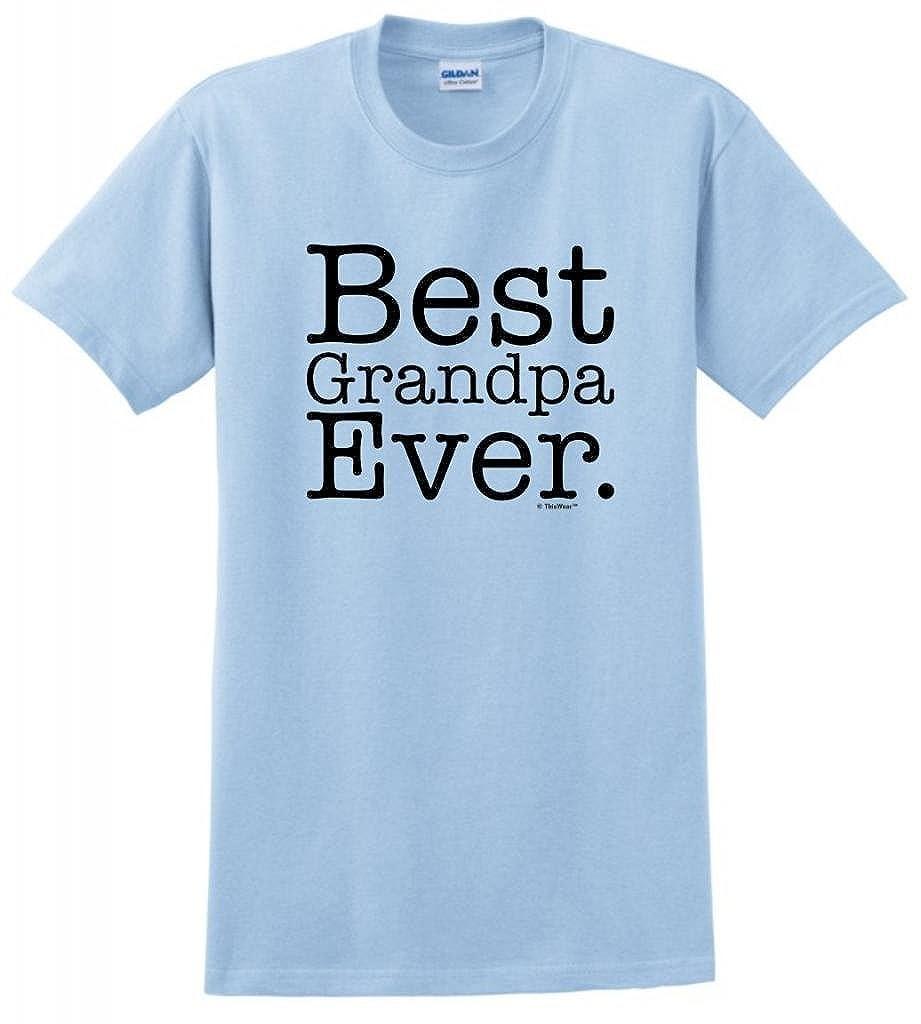 58ed02b15 Amazon.com  Best Grandpa Ever T-Shirt  Clothing