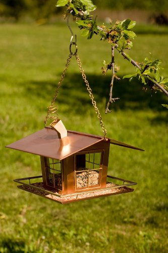 Potter Wacky Copper Bird Feeder