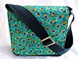 New Peacock Messenger Bag By Gifts and Beads