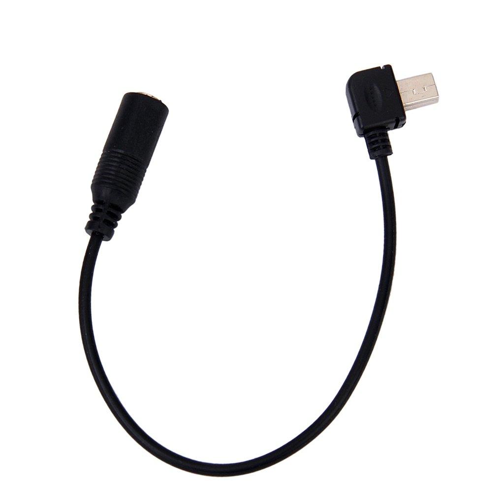 3 USB Microphone C/âble Adaptateur Cordon de Fil Pour GoPro Hero4 3+