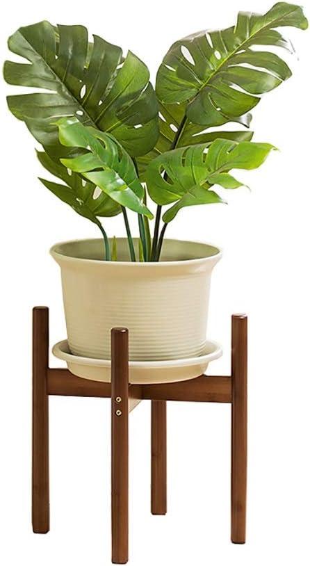 Soporte De Planta para Macetas Interiores Y Exteriores, Titular De Plantas De Bambú En Maceta para Jardín, Patio, Oficina, Dormitorio, Estudio (Tamaño : 28×28×40cm): Amazon.es: Hogar