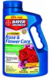 Bayer 701100A 2 In 1 Systemic Rose and Flower Care Granules, 5-Pound