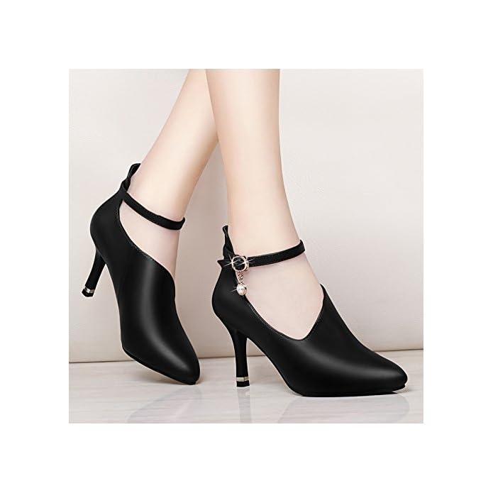Shoes Yukun E Moda Single Tacchi Scarpe Pu Autunno Tacco Primavera A Da Alti Con Spillo Donna Alto