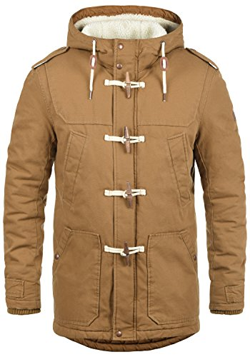 100 Made 5056 Outdoor Winter Hood Solid Jacket with Teddy Men's Forster Fleece Cinnamon Cotton of Jacket with apSxPOHq