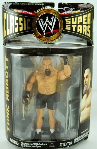 WWE - 2007 - Classic Super Stars - Series 15 - Tank Abbott Action Figure - w/ Barbells & Folding Chair - Limited Edition - Mint - Collectible by WWE
