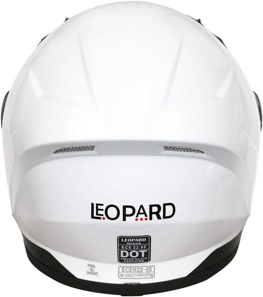 53-54cm Leopard LEO-813 Full Face Motorcycle Motorbike Helmet ECER 22.05,Pink Graphic XS
