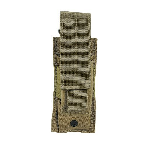 (VooDoo Tactical Pistol Single Mag Pouch, Coyote)