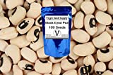 100 Blackeye PEA Black Eye Eyed Southern Cow Pea Seeds by Virgin Seed Supply