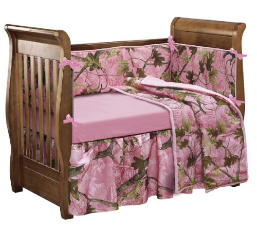 HiEnd Accents Realtree Camo Crib product image