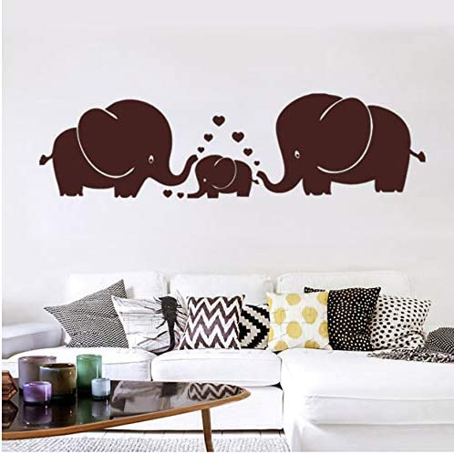 Familia De Elefantes, Padres E Hijos con Corazón, Tatuajes De ...