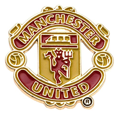 Crest Pin Badge - Manchester United Big Crest Pin Badge - Multi-colour