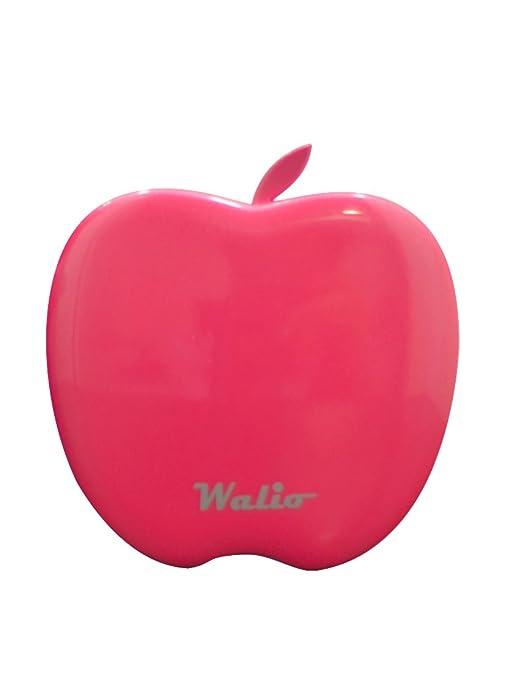 WALIO POWER BANK(Batería Externa) iPow 3200 Fucsia, 3200mAh, Cargador portátil universal para teléfono móvil smartphone y tablet. Dos salidas USB. ...