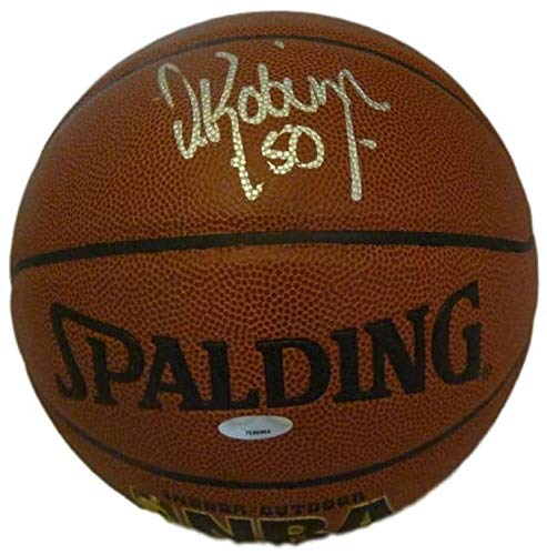 David Robinson Autographed/Signed San Antonio Spurs Basketball Tristar