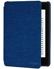 Amazon Kindle Paperwhite Waterbestendige hoes van textiel, 10de generatie 2018, blauw