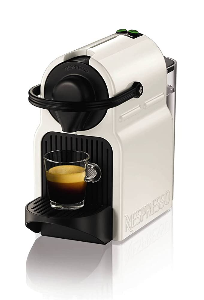 Nespresso Inissia Coffee Capsule Machine, White by Krups: Amazon ...