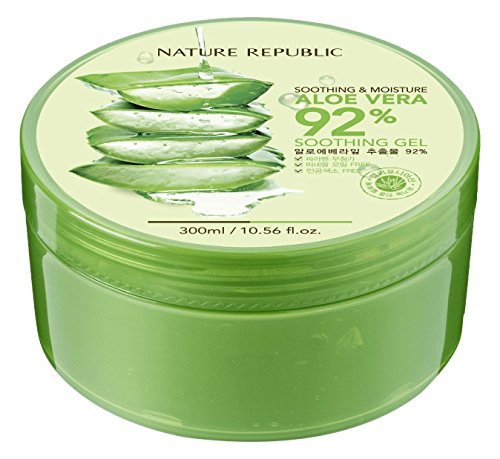 Nature Republic Soothing & Moisture Aloe Vera 92% Soothing Gel , 10.56 fl oz from Nature Republic