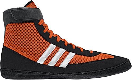 ac1b468d2c8f Galleon - Adidas Combat Speed 4 Wrestling Shoes - Orange Black White - 7.5