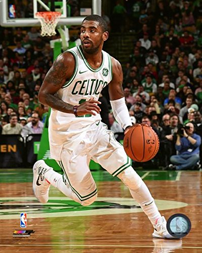 Kyrie Irving Boston Celtics 2017 NBA Action Photo (Size: 8
