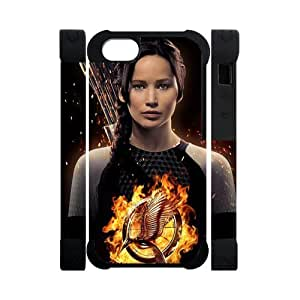 Every New Day The Hunger Games Katniss Everdeen Jennifer Lawrence Unique Custom IPHONE 5 or 5S Best Polymer+ Rubber 3D Cover Case