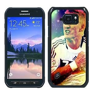 Hot Sale S6 Active Case,German Football Team Schweinsteiger 1 Black Samsung Galaxy S6 Actve Screen Phone Case Nice and Luxury Design