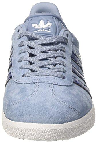 adidas Originals Gazelle W Womens Sneaker Blue BA7657, Size:37 1/3
