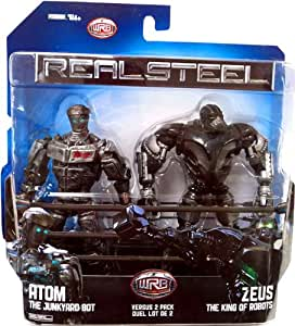 Real Steel Movie DELUXE Versus Action Figure 2Pack Atom vs Zeus