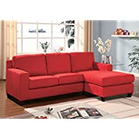 Acme Furniture 05917 Vogue Sectional Sofa (Rev