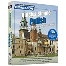 Pimsleur Polish Quick & Simple Course - Level 1 Lessons 1-8 CD: Learn to Speak and Understand Polish with Pimsleur Language Programs
