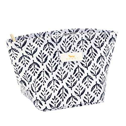 SCOUT Crown Jewels Makeup Pouch, Small Makeup, Accessory, and Cosmetic Bag for Purse with Zipper Closure Multiple Patterns Available