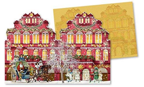 nostalgische-weihnachtshuser-windlicht-mini-adventskalender-sortiment-4-x-6-ex-grusskarten