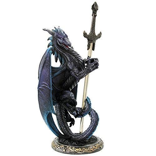 Ruth Thompson Dragon Blade Collectible Series Storm Blade Dragon Letter Opener premium decor collectible figurine by Moon