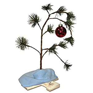 productworks 24 inch peanuts charlie brown musical christmas tree with linus blanket - 12 Inch Christmas Tree