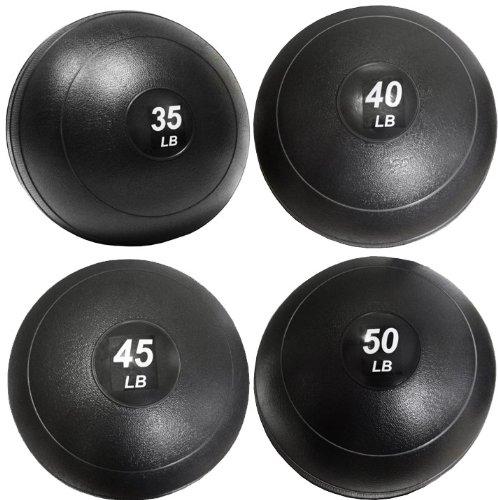Valor Athletics Slam Ball Set - 35-40-45-50 lbs. by Ironcompany.com