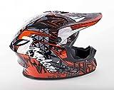 quad helmets for youth - Cyclone ATV MX Motocross Dirt Bike Quad Off-road Helmet - Red - Youth Medium