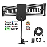 LeadTry Outdoor HD Digital TV Antenna 150+ Mile Reception Range with a Signal