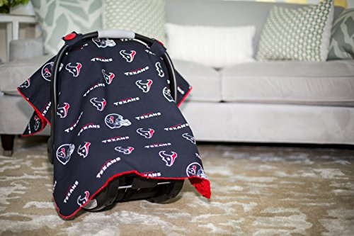 Carseat Canopy NFL Houston Texans Baby Infant Car Seat Cover