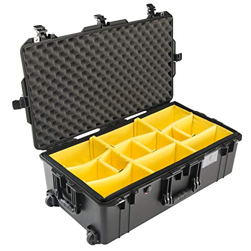 Pelican Air 1615 Case With Padded Dividers (Black)
