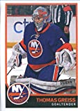 2017-18 Panini Stickers #127 Thomas Greiss New York Islanders Hockey Sticker