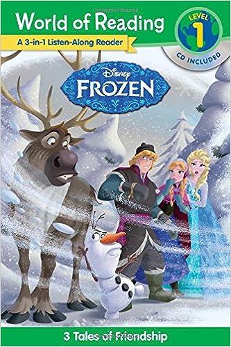 World of Reading: Frozen Frozen 3-in-1 Listen-Along Reader