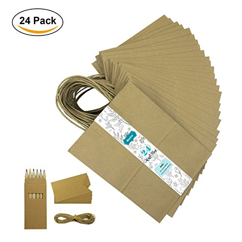 Brown Paper Bag String Handle - 5