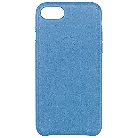 - 51GHfTcLXrL - Apple iPhone 7 Leather Case – Sea Blue, MMY42