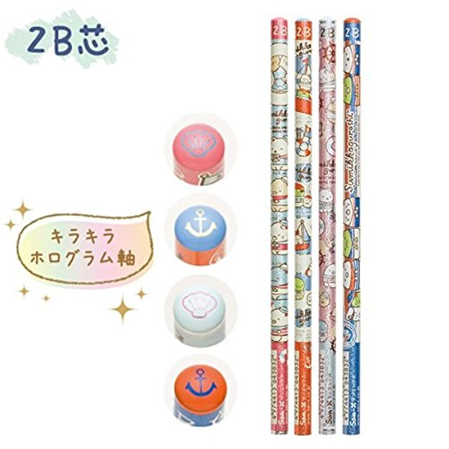 San-X Sumikko Gurashi 2B Pencil 4pc Set (PN90201)