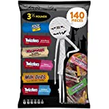 HERSHEY'S Halloween Snack Size Assortment (56-Ounce Bag, 140 Pieces)