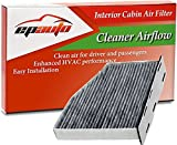 vw cabin air filter - EPAuto CP939 (CUK2939) Audi / Volkswagen Premium Cabin Air Filter includes Activated Carbon