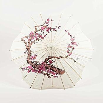Amazon.com: PaperLanternStore Quasimoon sombrilla parasol ...