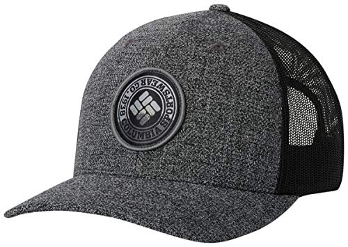 2d372ca389b Columbia Men's Mesh Snap Back Hat, Grill Heather, Circle Patch, One Size