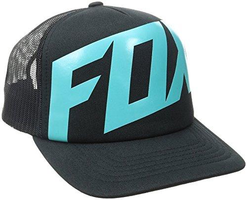 Fox Men's Flat Bill Snapback Hat, Black12, One (Hi Cap Print)