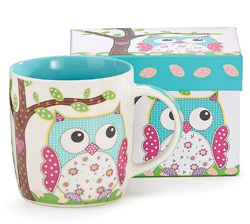 owls teacher gift mug