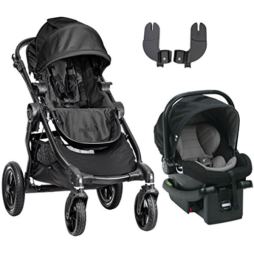Baby Jogger 2016 City Select Travel System, Black/Black